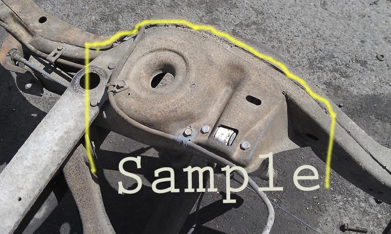 1968 69 70 71 72 chevelle skylark 442 gto right rear frame for American classics inc